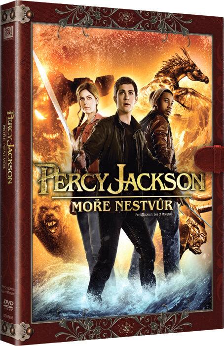 Percy Jackson: Moře Nestvůr (DVD) - KNIŽNÍ EDICE