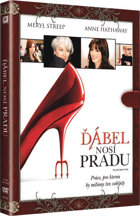 Ďábel nosí Pradu (DVD) - KNIŽNÍ EDICE