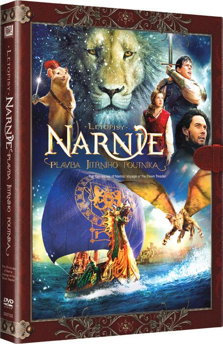 Letopisy Narnie: Plavba Jitřního poutníka (DVD) - KNIŽNÍ EDICE
