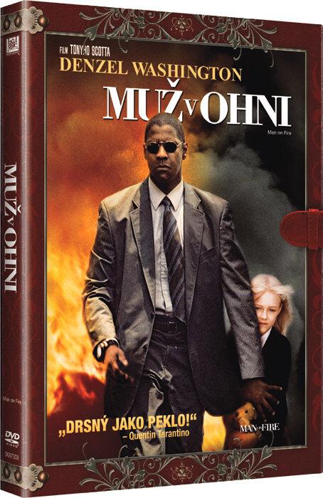 Muž v ohni (DVD) - KNIŽNÍ EDICE