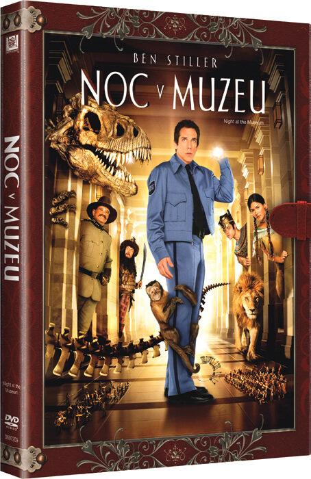 Noc v muzeu (DVD) - KNIŽNÍ EDICE