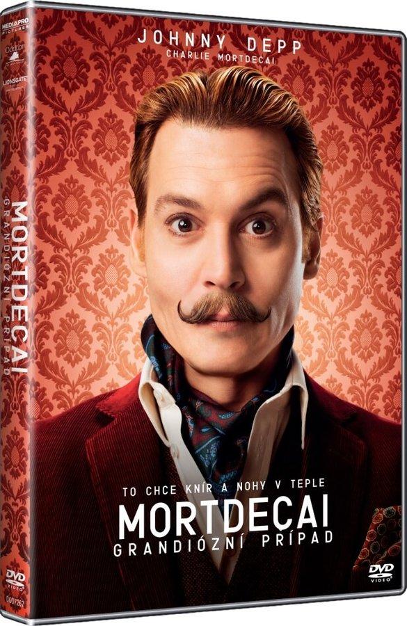 Mortdecai: Grandiózní případ (DVD)