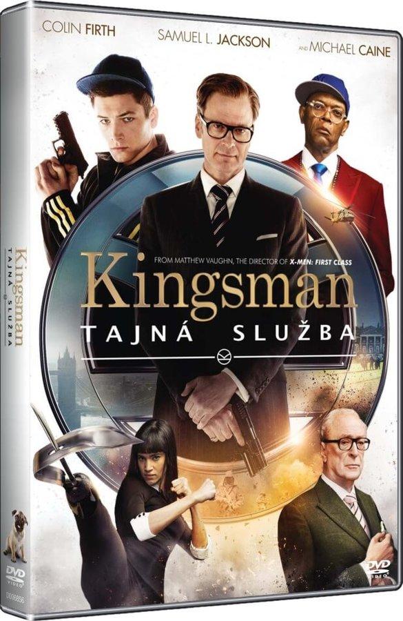Kingsman: Tajná služba (DVD)