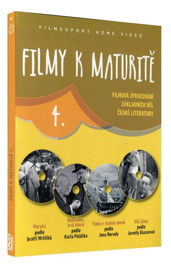 Filmy k maturitě 4 kolekce 4DVD