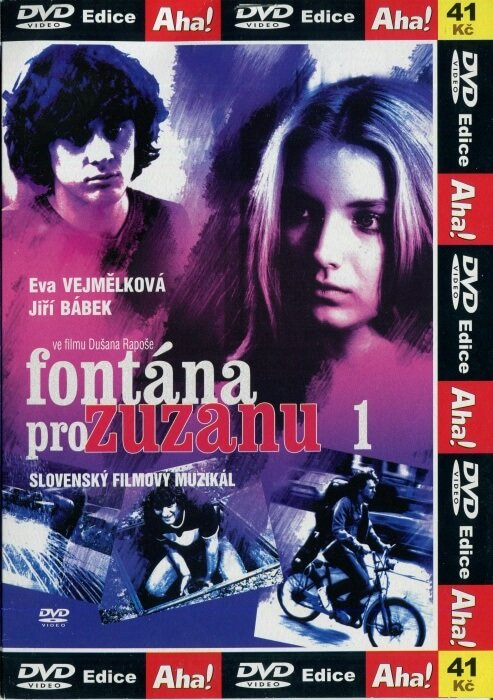 Fontána pre Zuzanu (DVD) (papírový obal)
