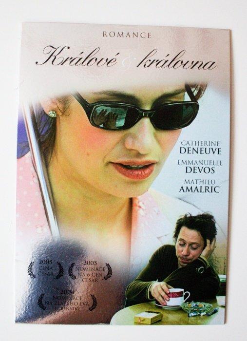 Králové a královna (DVD) (papírový obal)