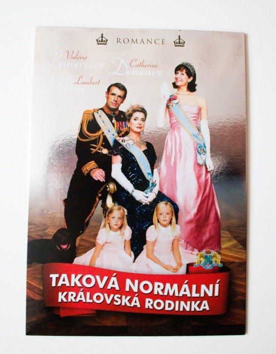 Taková normální královská rodinka (DVD) (papírový obal)