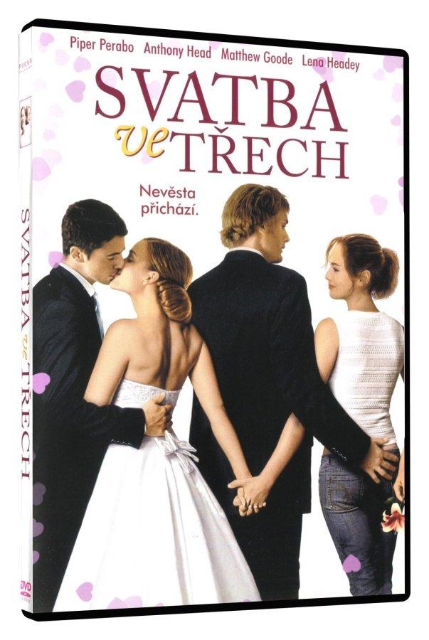 Svatba ve třech (DVD) (papírový obal)