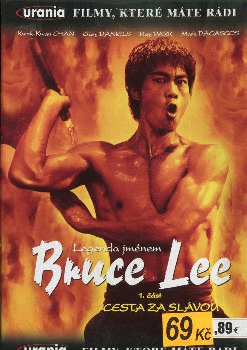 Legenda jménem Bruce Lee - 1. část - Cesta za slávou (DVD) (papírový obal)