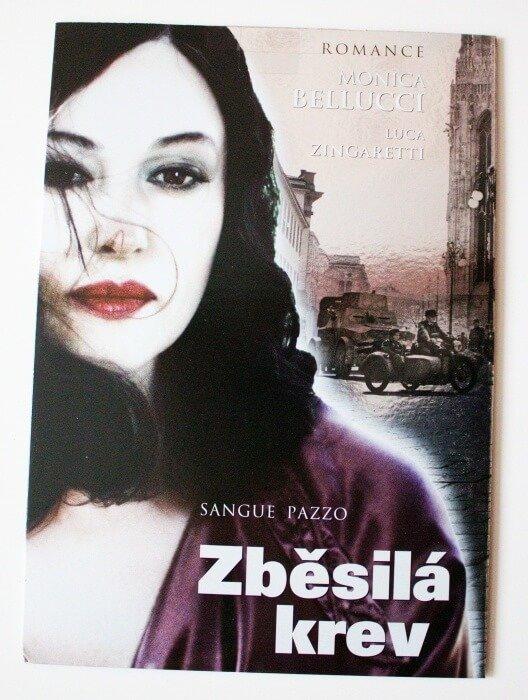 Zběsilá krev (DVD) (papírový obal)