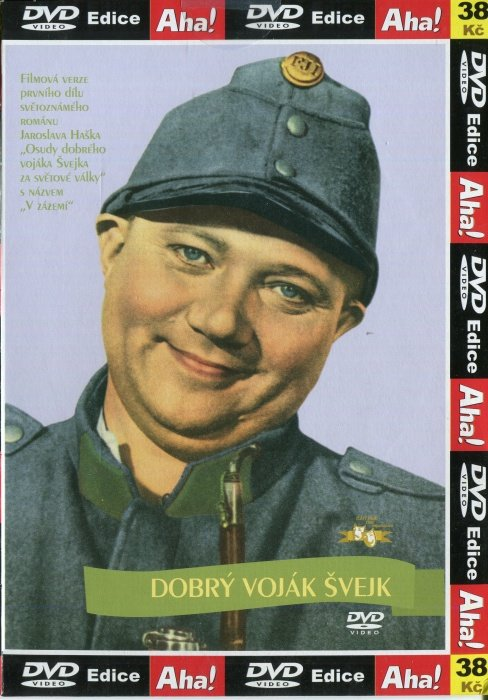 Dobrý voják Švejk (DVD) (papírový obal)