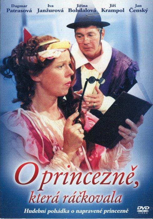 O princezně, která ráčkovala (DVD) (papírový obal)