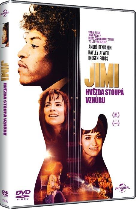 Jimi: Hvězda stoupá vzhůru (DVD)