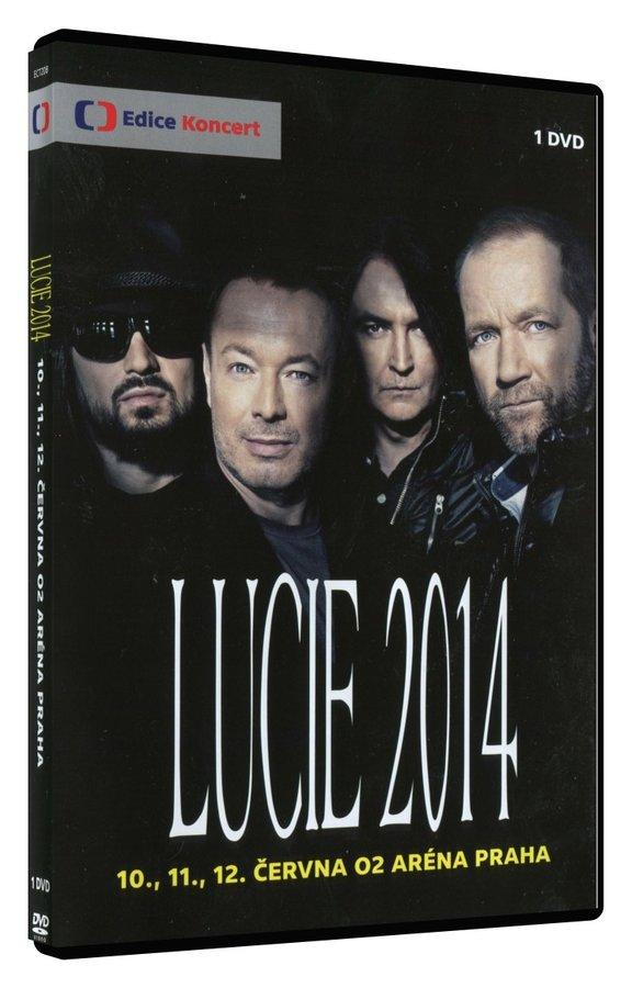 Lucie 2014 (DVD) - záznam koncertu z O2 arény v Praze