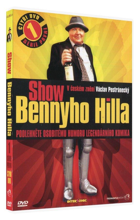 Show Bennyho Hilla (4 DVD) - kompletní 1. série