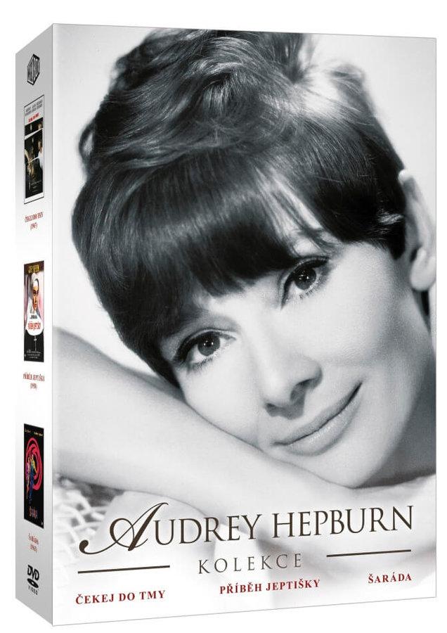 Audrey Hepburn kolekce (3xDVD) - nová kolekce 2015