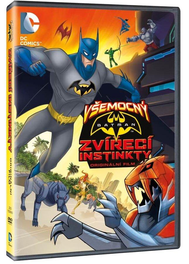 Všemocný Batman: Zvířecí instinkty (DVD)