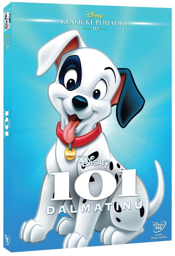 101 Dalmatinů (DVD) - animovaný - Edice Disney klasické pohádky