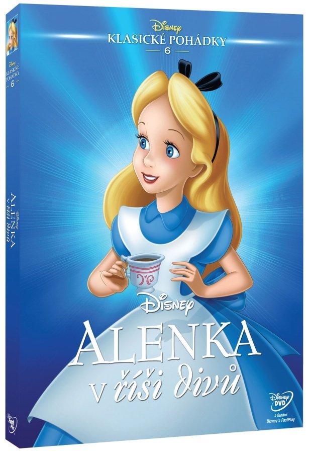 Alenka v říši divů (1951) (animovaný) (DVD) - Edice Disney klasické pohádky