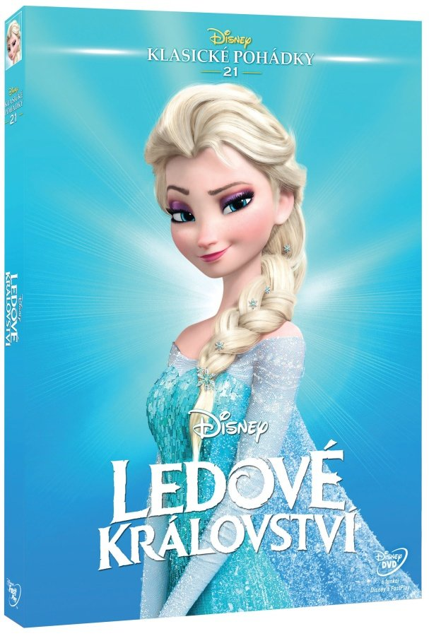 Ledové království (DVD) - Edice Disney klasické pohádky