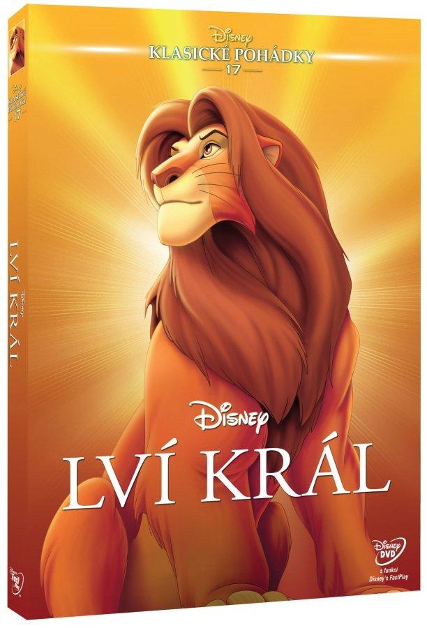 Lví král DE (DVD) - Edice Disney klasické pohádky