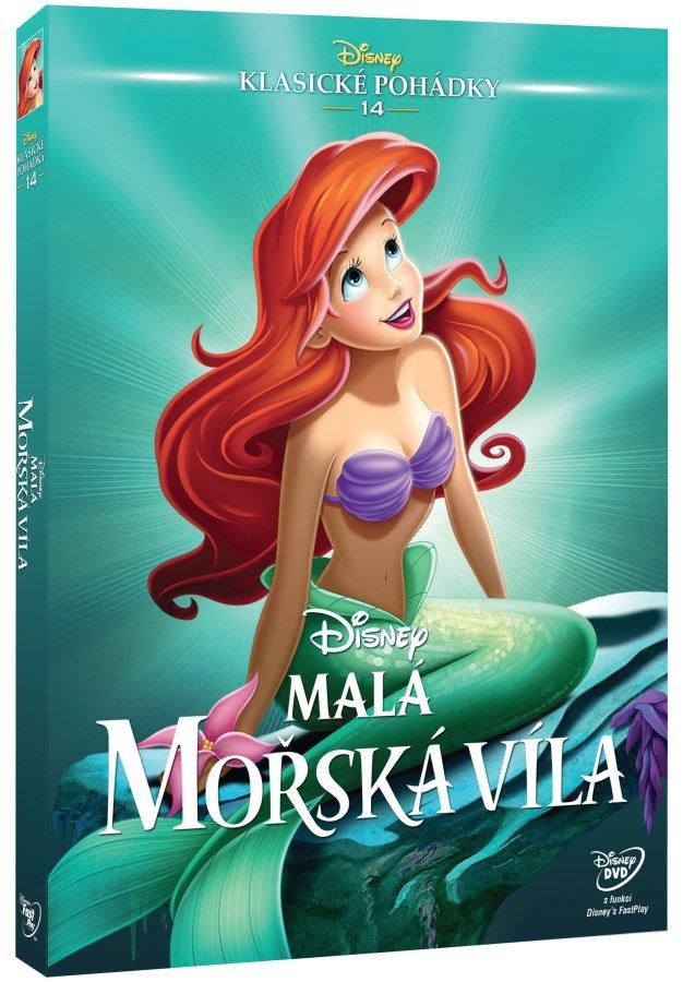 Malá mořská víla (DVD) - Edice Disney klasické pohádky