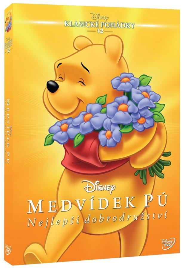 Medvídek Pú: Nejlepší dobrodružství (DVD) - Edice Disney klasické pohádky