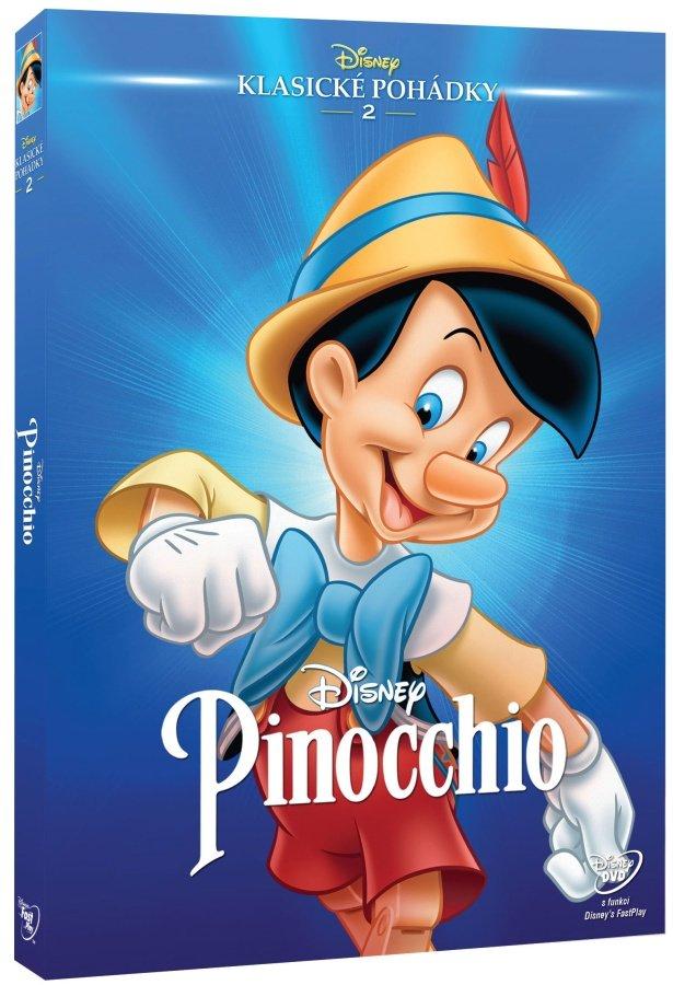 Pinocchio (DVD) - Edice Disney klasické pohádky