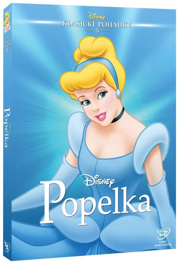 Popelka DE (DVD) - Edice Disney klasické pohádky