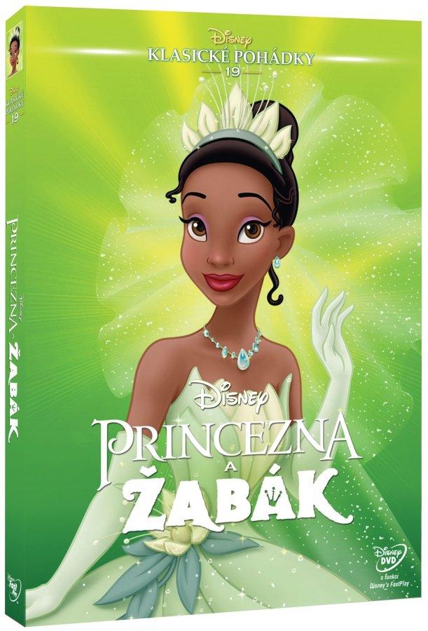 Princezna a žabák (DVD) - Edice Disney klasické pohádky