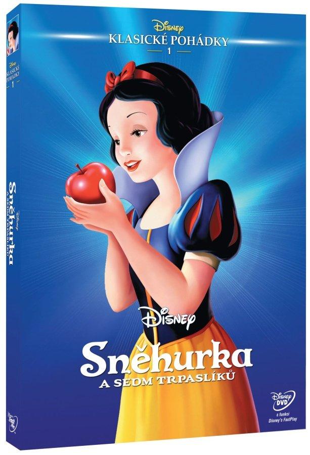 Sněhurka a sedm trpaslíků (DVD) - Edice Disney klasické pohádky