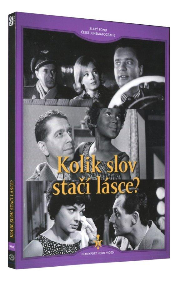 Kolik slov stačí lásce? (DVD) - digipack