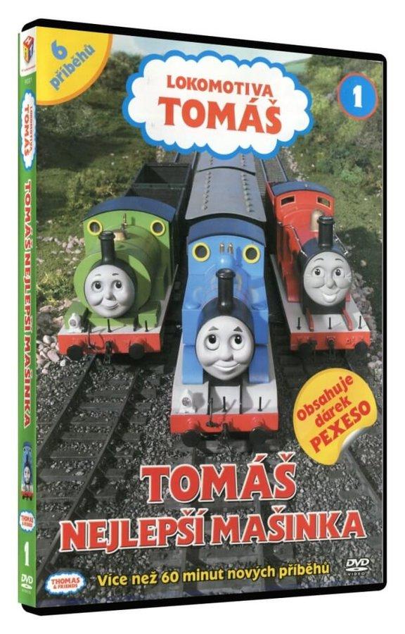 Lokomotiva Tomáš - Tomáš nejlepší mašinka (DVD)