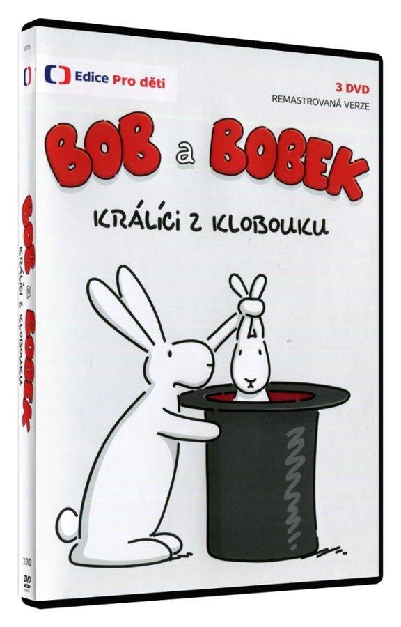 Bob a Bobek králíci z klobouku (39 dílů) - 3xDVD - remasterovaná verze