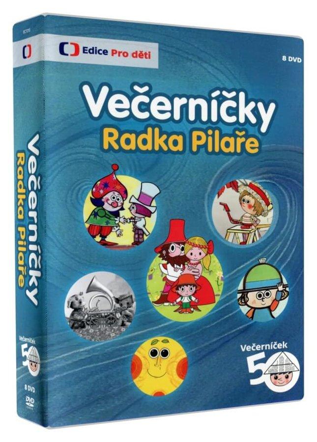Večerníčky Radka Pilaře - kolekce - 8xDVD