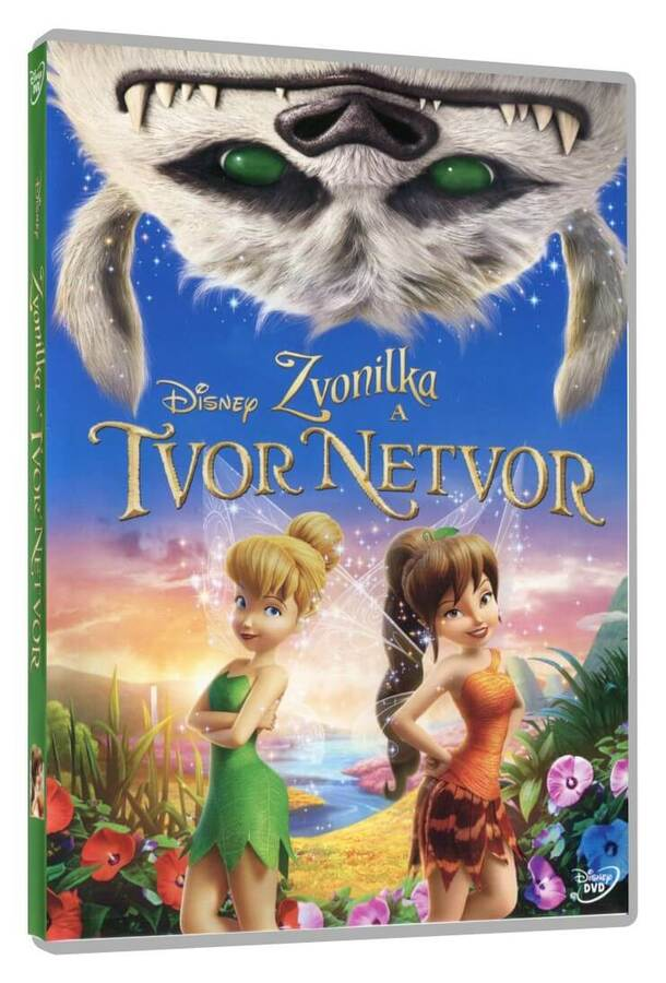 Zvonilka a tvor Netvor (DVD)
