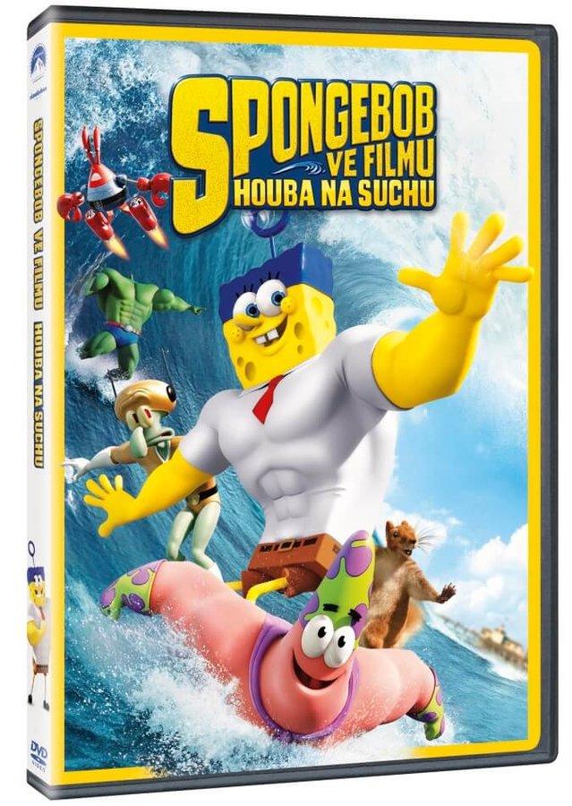 SpongeBob ve filmu: Houba na suchu (DVD)