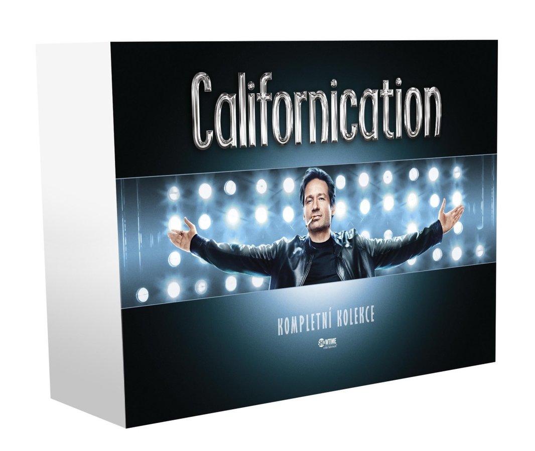 Californication KOMPLETNÍ KOLEKCE 1.-7. série - 15xDVD