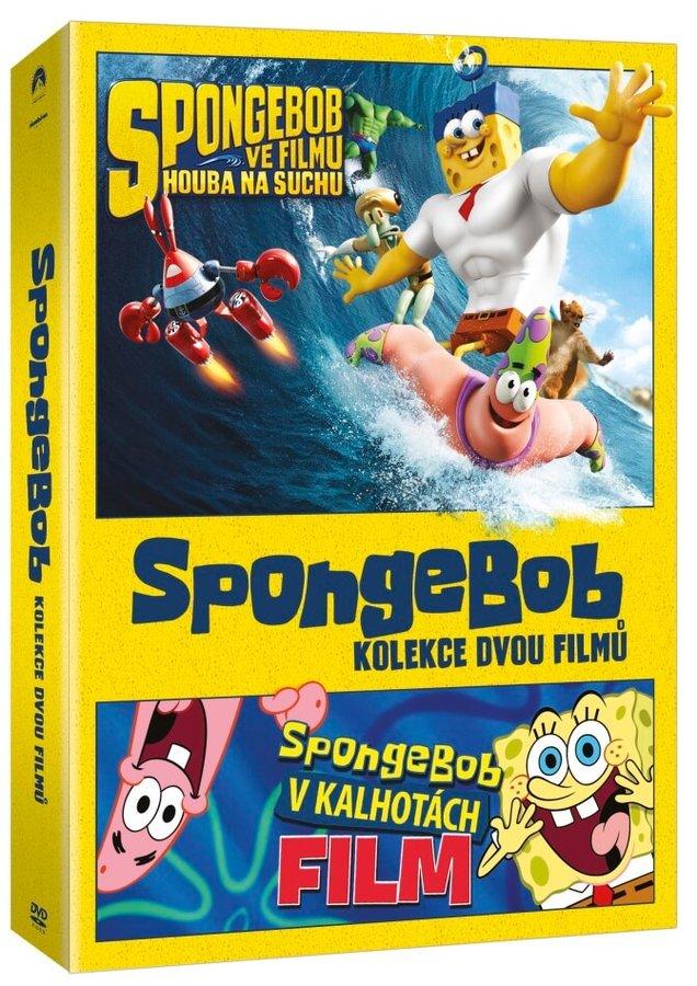 SpongeBob - kolekce 1.-2. - 2xDVD