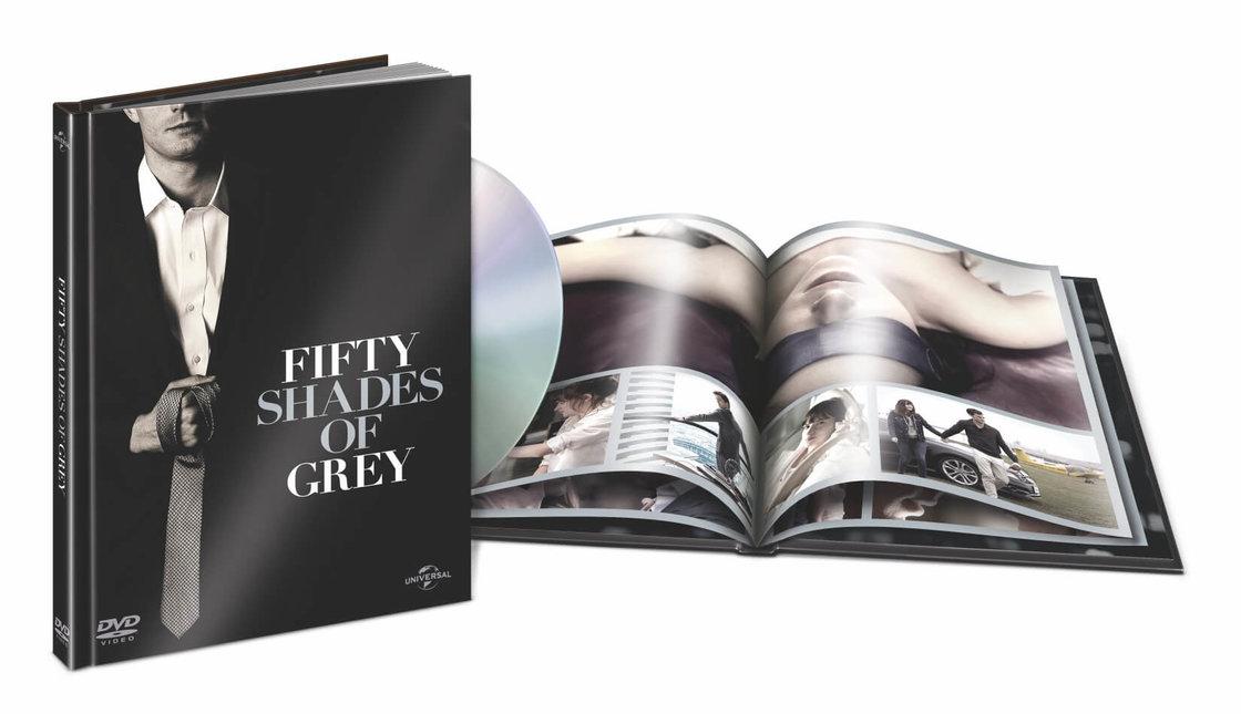Padesát odstínů šedi (DVD) - DIGIBOOK
