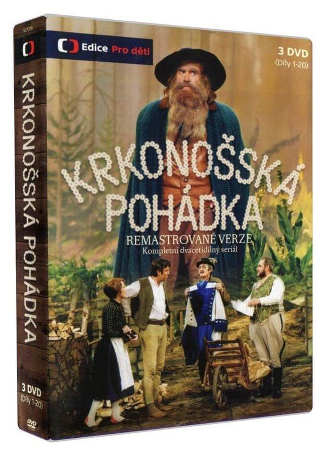 Krkonošská pohádka (20 dílů) - 3 DVD - remastrovaná verze