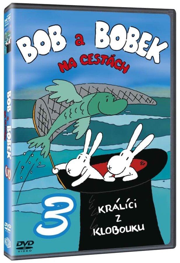 Bob a Bobek na cestách 3 (DVD)