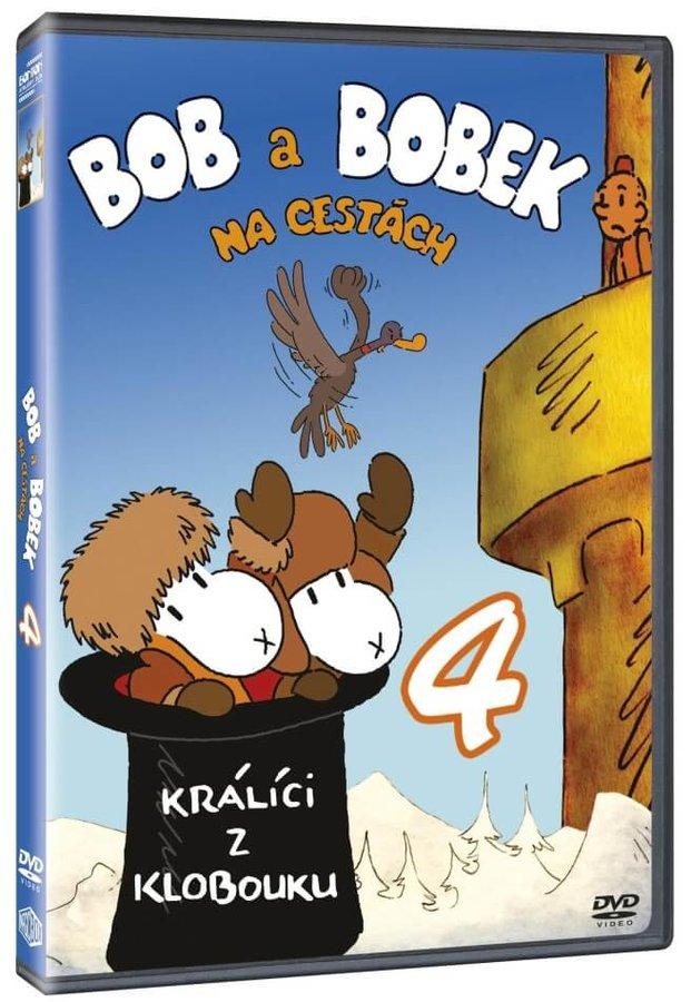 Bob a Bobek na cestách 4 (DVD)