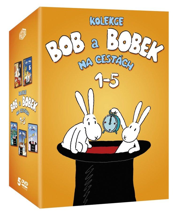 Bob a Bobek na cestách 1-5 - kolekce (5xDVD)