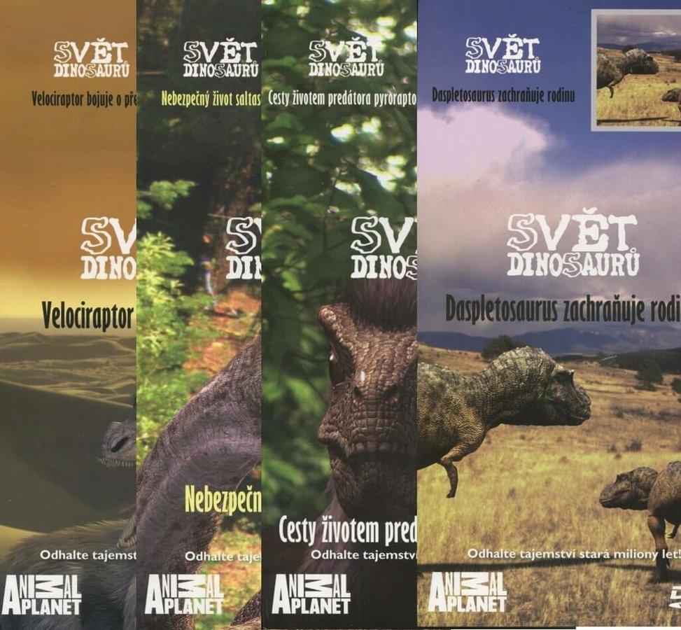 Svět Dinosaurů 1-4 - kolekce - 4xDVD (papírový obal)