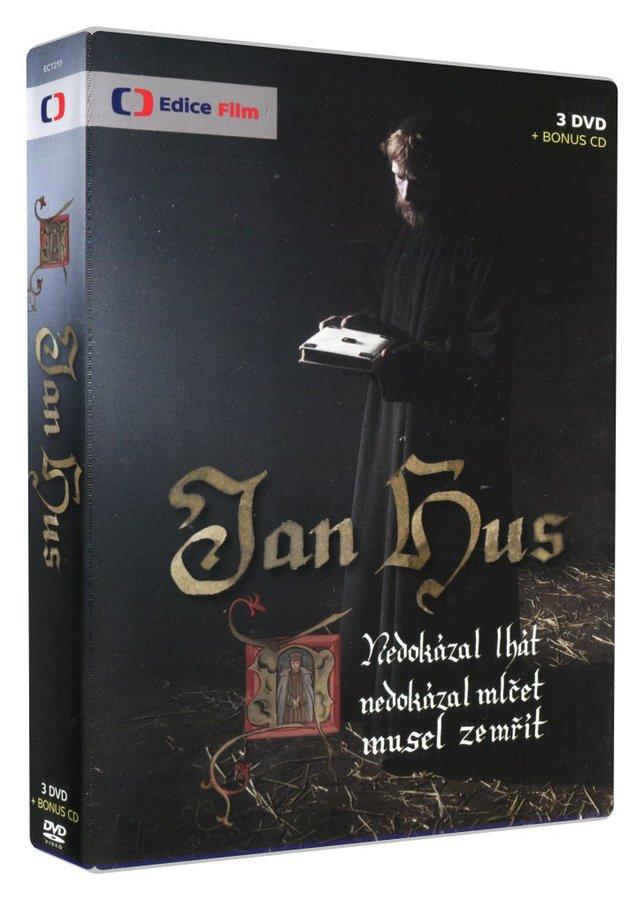 Jan Hus (3xDVD+CD SOUNDTRACK) - nové TV zpracování