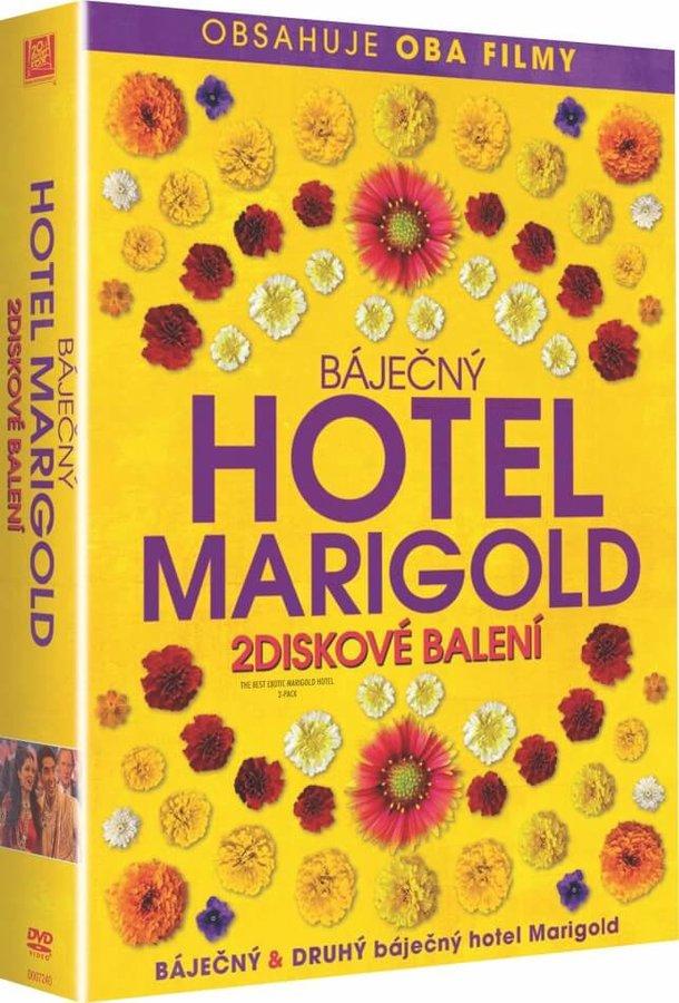 Báječný hotel Marigold 1+2 - kolekce (2xDVD)