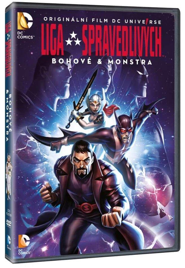 Liga spravedlivých: Bohové & monstra (DVD)