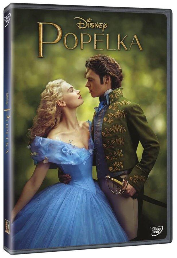 Popelka (DVD) - nové filmové zpracování 2015