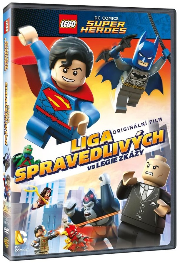 Lego: Liga spravedlivých vs Legie zkázy (DVD)